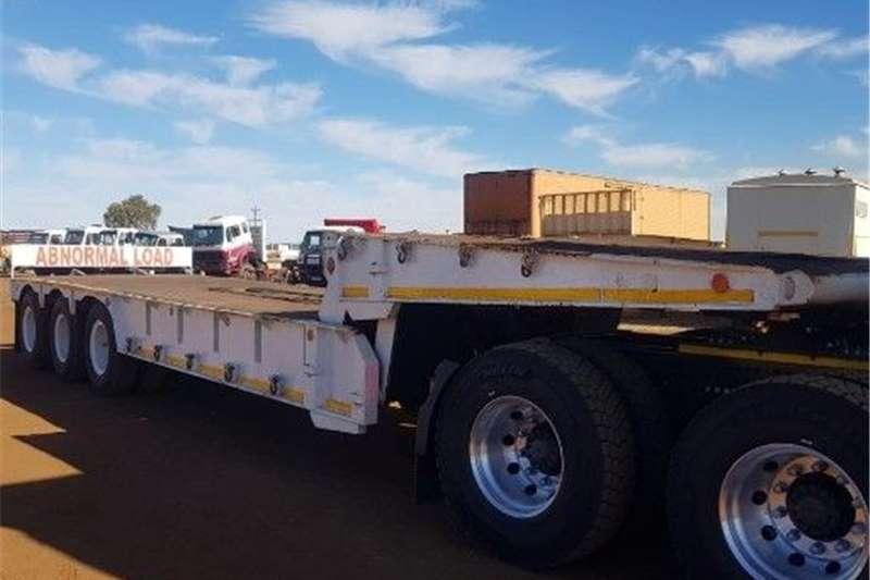Citrus trailers Folding Goosnek lowbed Agricultural trailers