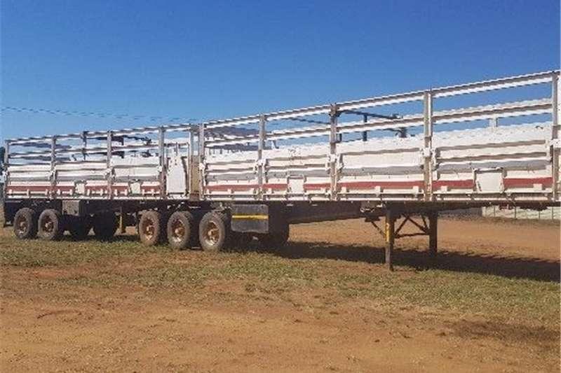 Debulking trailers Afrit superlink trailer Agricultural trailers