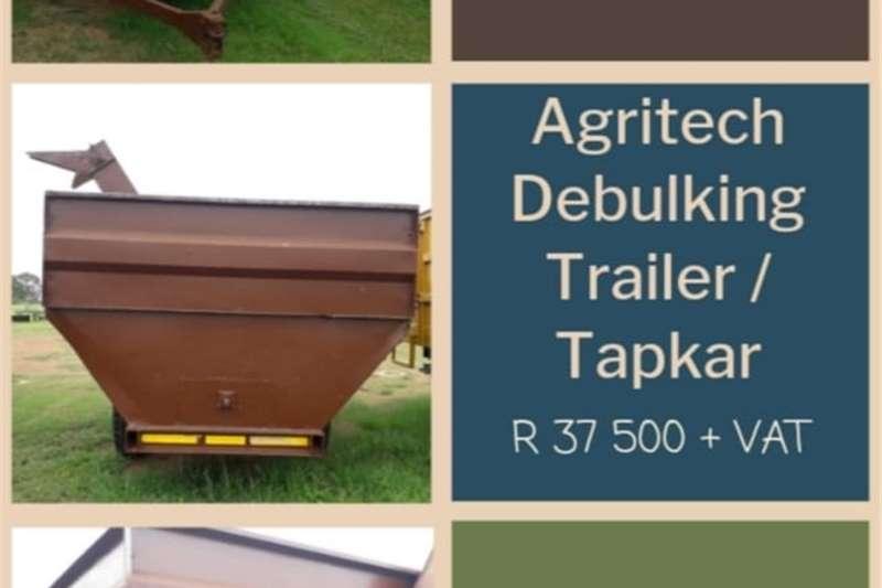 Debulking trailers AGRITECH DEBULKING TRAILER / TAPKAR Agricultural trailers