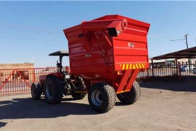 Debulking trailers New debulking trailers 8 and 10 ton Agricultural trailers