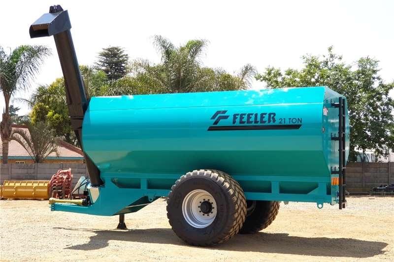 Debulking trailers OORLAAI WA / TRANSFER TRAILER Agricultural trailers
