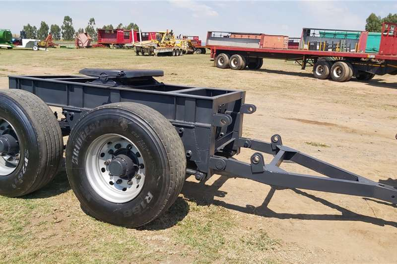 Agricultural trailers Dolly Double Axle