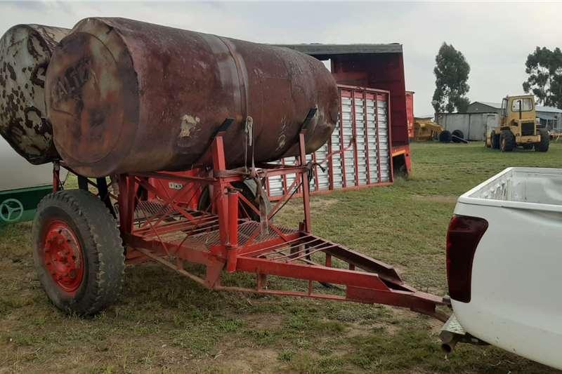 Agricultural trailers Drawbar Tank Trailer