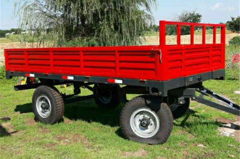 Dropside trailers 6T double axle trailer Agricultural trailers