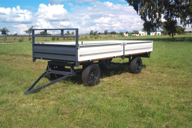 Agricultural trailers Dropside trailers 6Ton farm trailer