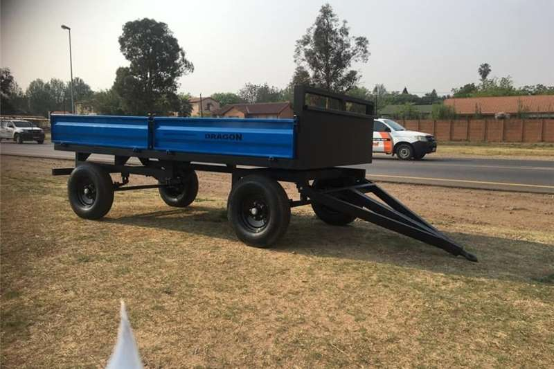 Dropside trailers DROPSIDE TRAILER DRAGON SINCE Agricultural trailers