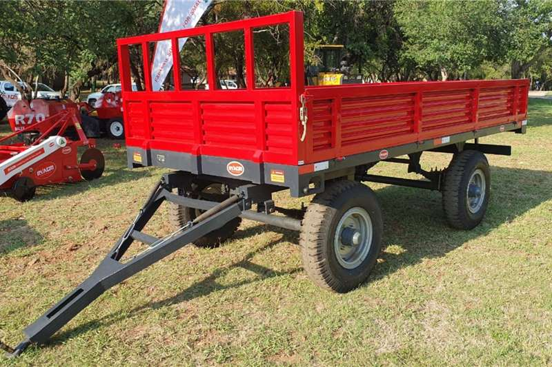 Dropside trailers New 6 Ton Double Axel Trailer Agricultural trailers