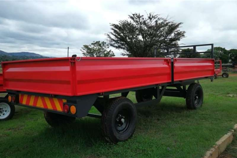Dropside trailers New 6 ton farm trailers Agricultural trailers