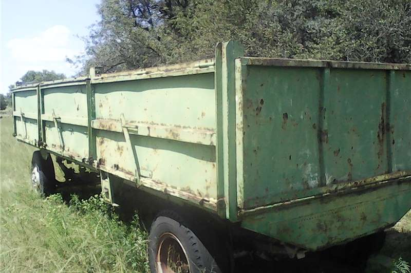 Agricultural trailers Dropside trailers Nice trailer
