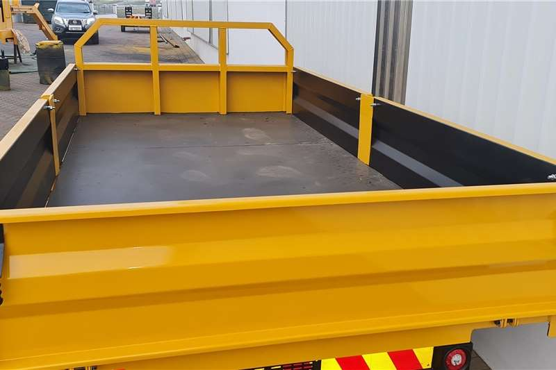 Dropside trailers Special Offer   New 5 Ton dropside farm tipping tr Agricultural trailers