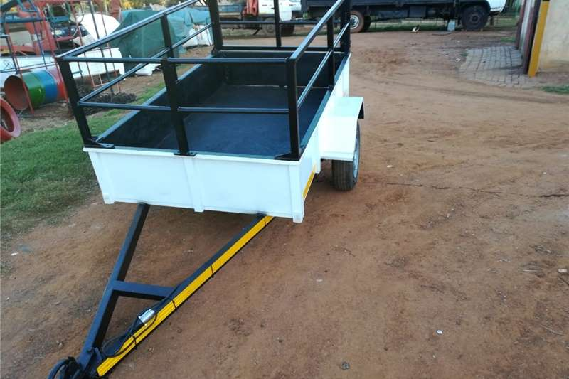 Agricultural trailers Dropside trailers utility trailer with railings