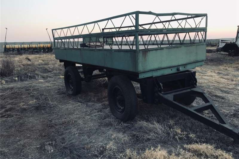 Fire fighting trailers 6 ton water trailer farm Agricultural trailers