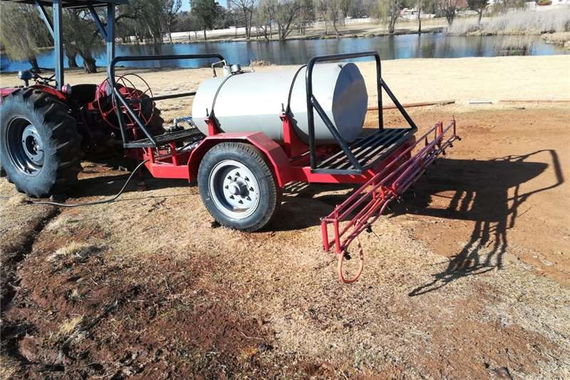 Fire fighting trailers boom sprayer + fire fighter Agricultural trailers