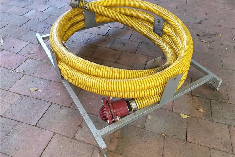 Fire fighting trailers DEMO Fire Fighter: 1000L with 7,5bar Pump Agricultural trailers