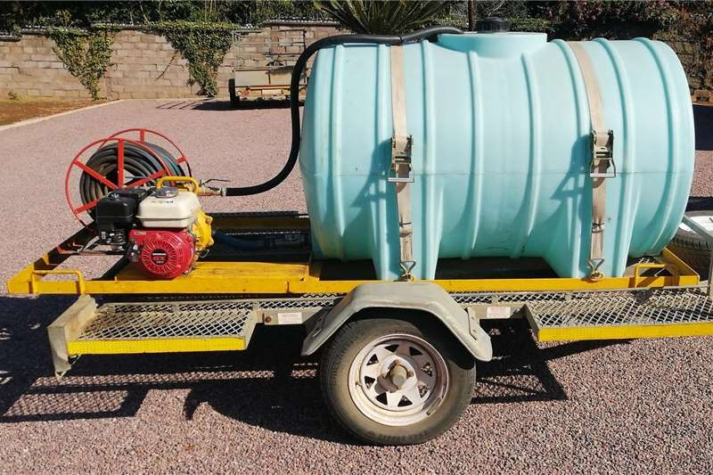 Fire fighting trailers NORTHMEC   FIRE FIGHTING DAVEY PUMP ON FRAME Agricultural trailers