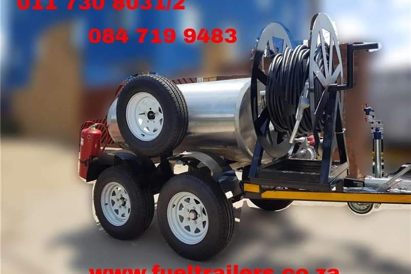 Fuel bowsers 1000 liter diesel bowser trailer Agricultural trailers