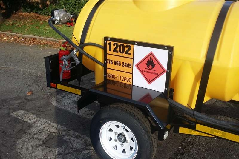 Fuel bowsers 1000Litre Diesel Bowser Agricultural trailers