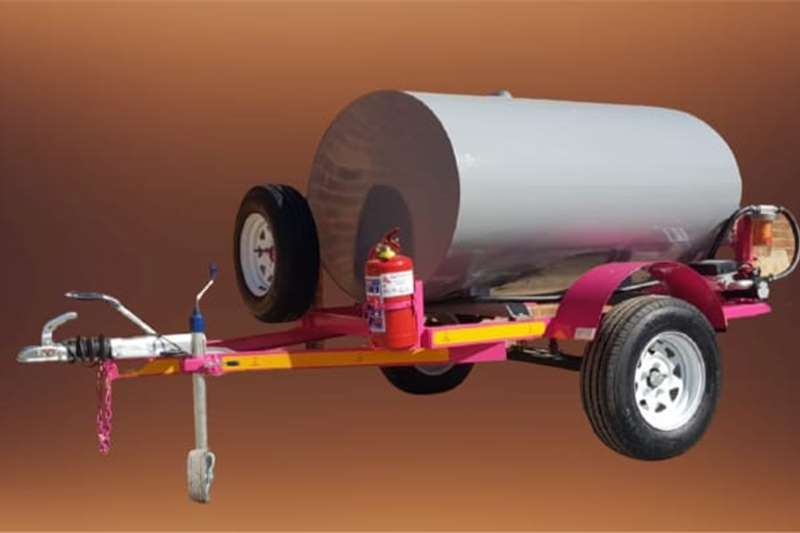 Fuel bowsers 1500 liter diesel bowser trailer Agricultural trailers