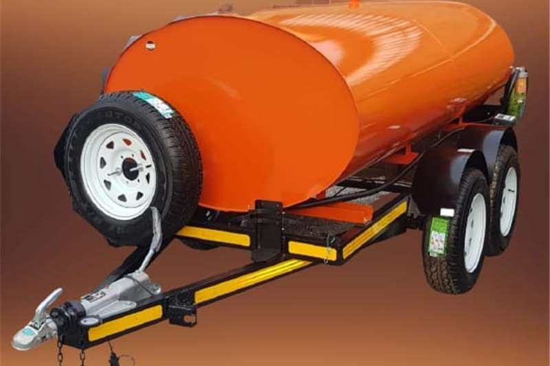 Fuel bowsers 3000 liter diesel bowser trailer Agricultural trailers