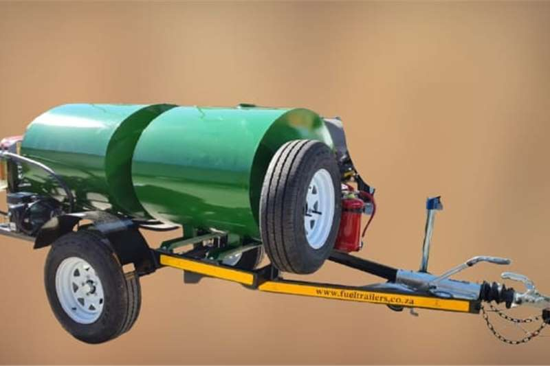Fuel bowsers 500 LITER DIESEL BOWSER TRAILER Agricultural trailers