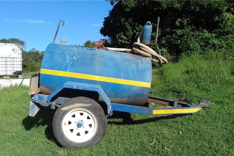 Agricultural trailers Fuel bowsers 500lt diesel bowser