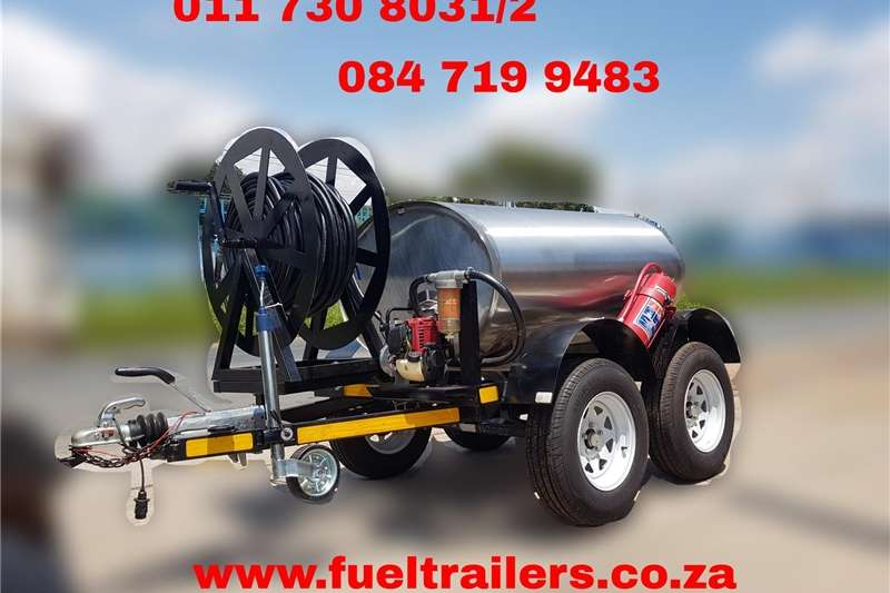 Fuel bowsers Custom 1000 Litre Diesel Bowser Agricultural trailers