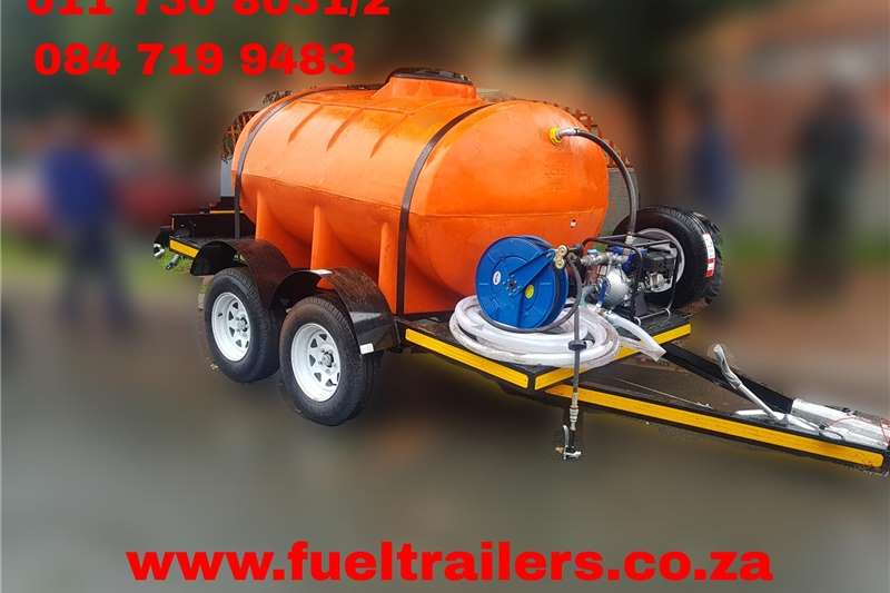 Fuel bowsers Custom 2500 Litre Diesel Bowser Agricultural trailers