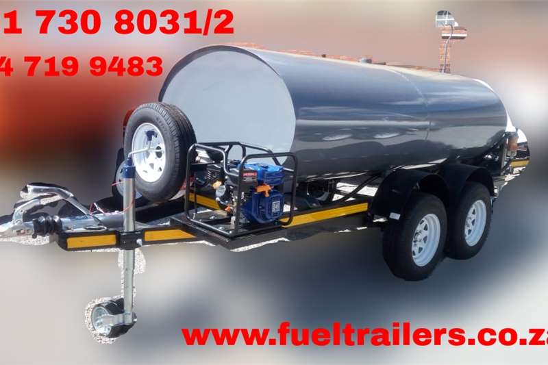 Fuel bowsers Custom 3000 Litre Diesel Bowser Agricultural trailers