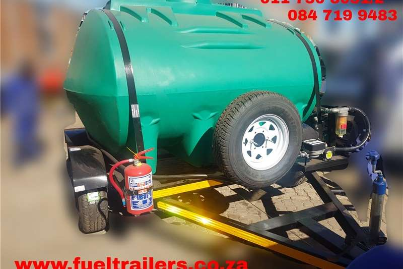Fuel bowsers Custom 5000 Litre Diesel Bowser Agricultural trailers