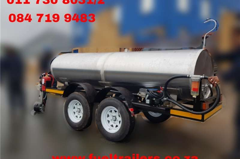 Fuel bowsers CustomLitre Fuel Bowser Agricultural trailers