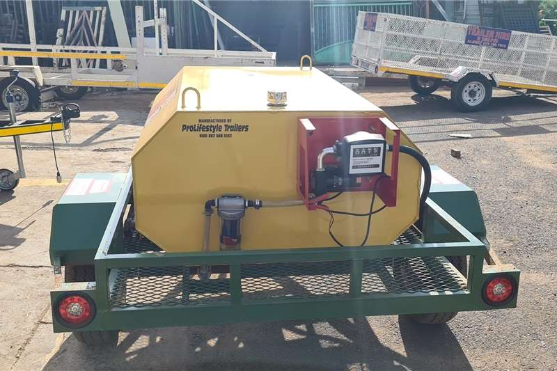 Fuel bowsers Diesel Bowser Agricultural trailers