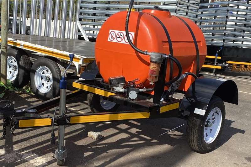 Fuel bowsers Diesel Bowser Trailers Agricultural trailers