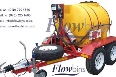 Fuel bowsers NEW 600lt to 2500Lt Horizontal Diesel Bowser Trail Agricultural trailers