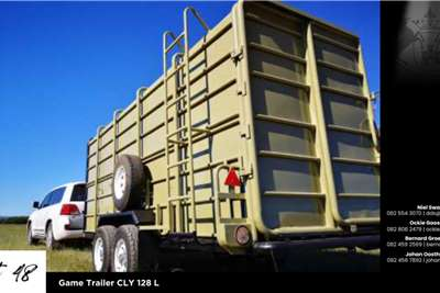 Game trailers Game Trailer CLY 128 L Agricultural trailers