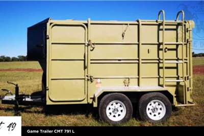 Game trailers Game Trailer CMT 791 L Agricultural trailers
