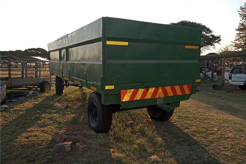 Grain trailers 10 ton Rolo Trailer for sale Agricultural trailers