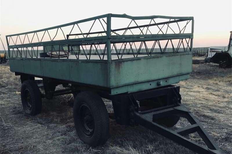 Grain trailers 6 ton trailer farm or water trailer Agricultural trailers