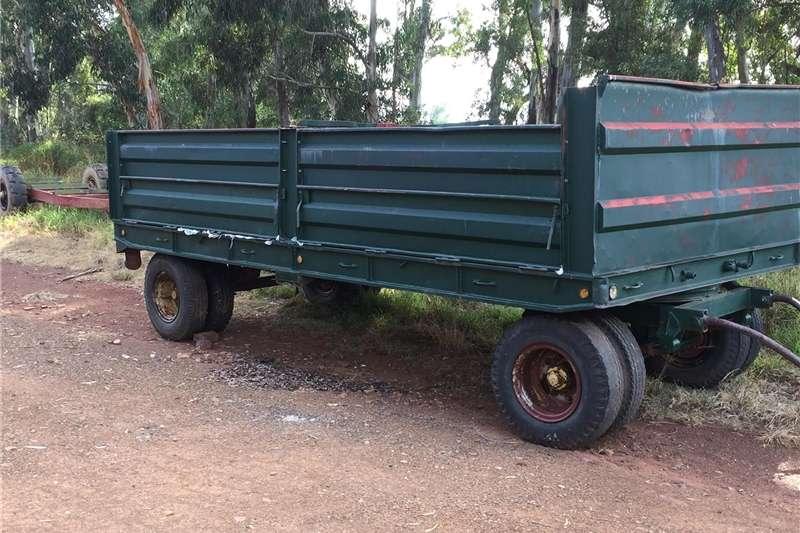 Agricultural trailers Grain trailers Grain trailor 12 ton
