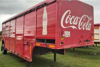 Hackney Tautliner Trailer Agricultural trailers