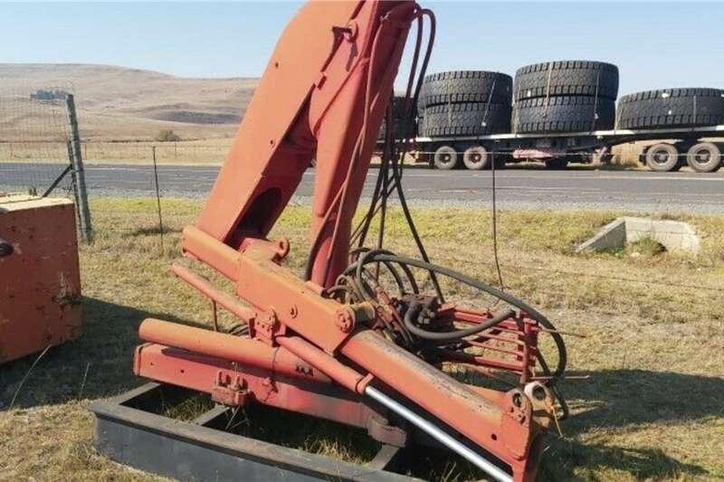 Hydraulic Crane Agricultural trailers