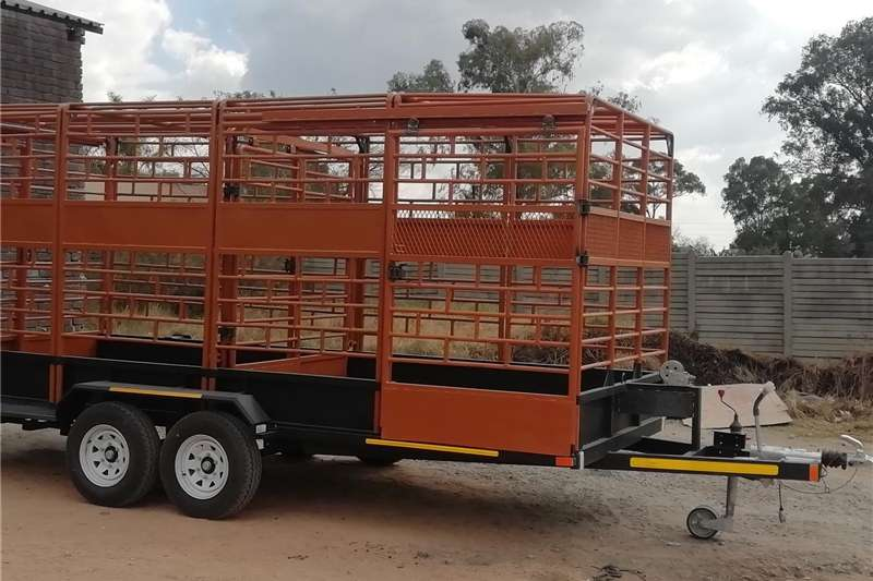 Agricultural trailers Live stock trailers