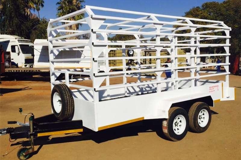 Livestock trailers 10×6 Cattle / Livestock Trailer   3500kg ATM   He Agricultural trailers