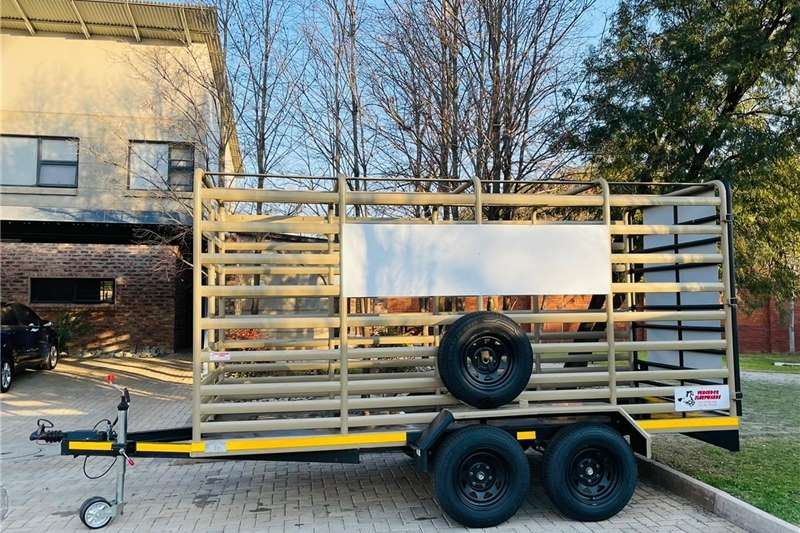 Livestock trailers 3.5 Ton cattle trailer Agricultural trailers