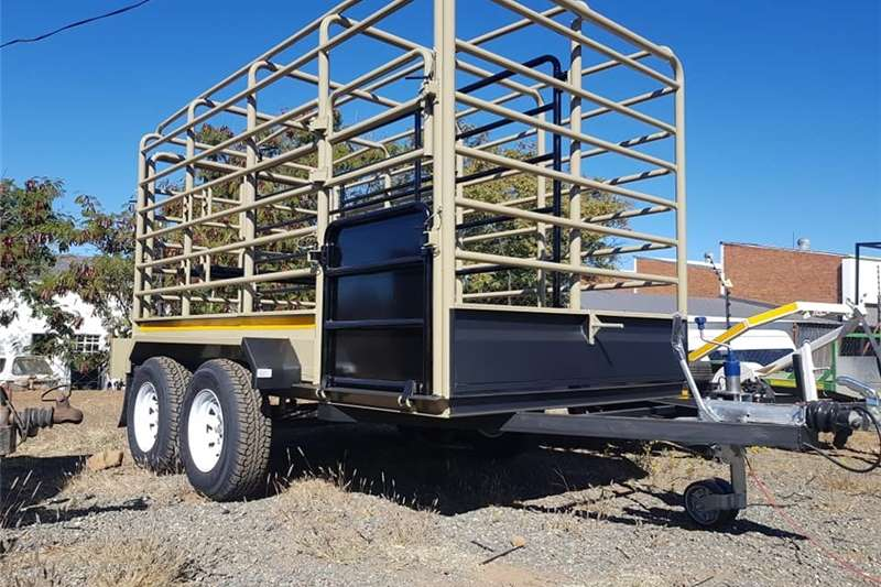 Livestock trailers 3.5m Cattle Trailer  Sheep / Live stock Trailers Agricultural trailers
