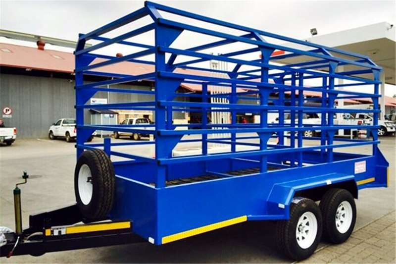 Livestock trailers 3.5Ton 4m Cattle Livestock Trailer / Sheep Trailer Agricultural trailers