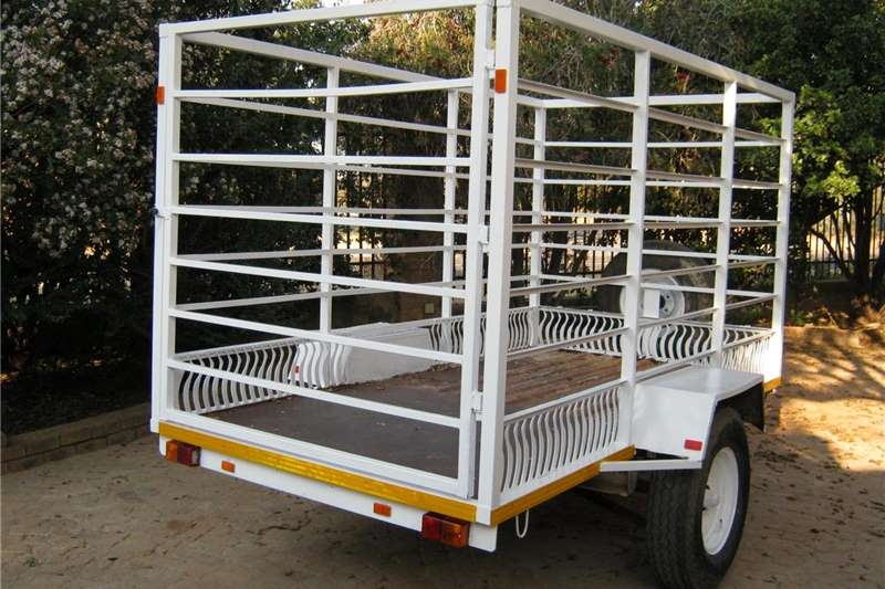 Livestock trailers 3Meter Heavy Duty Cattle Trailer Agricultural trailers