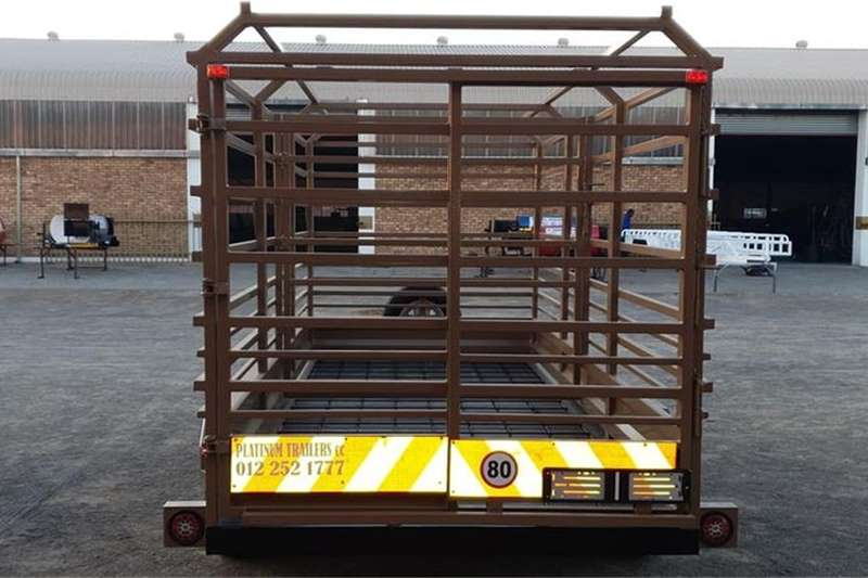 Livestock trailers 4m 3ton Cattle Trailer Agricultural trailers