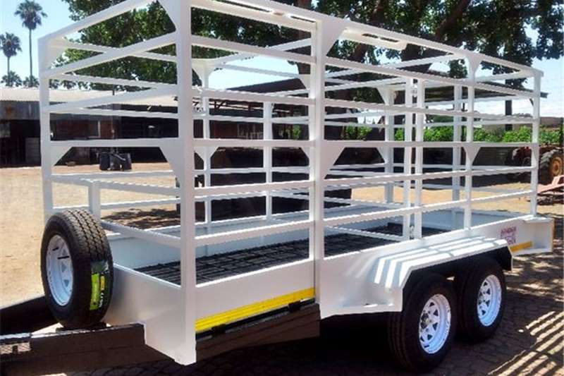 Livestock trailers 4m Trailer Agricultural and Livestock Cattle Trail Agricultural trailers
