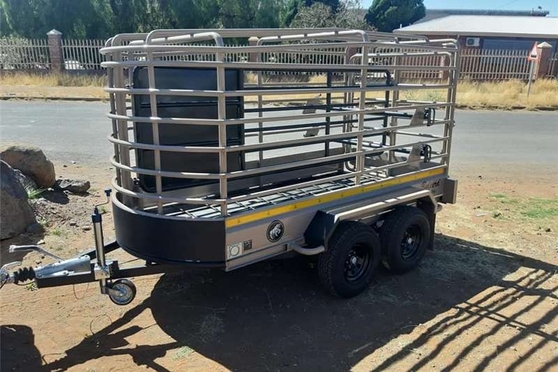 Livestock trailers Agricultural Large Cattle & Sheep trailer Agricultural trailers