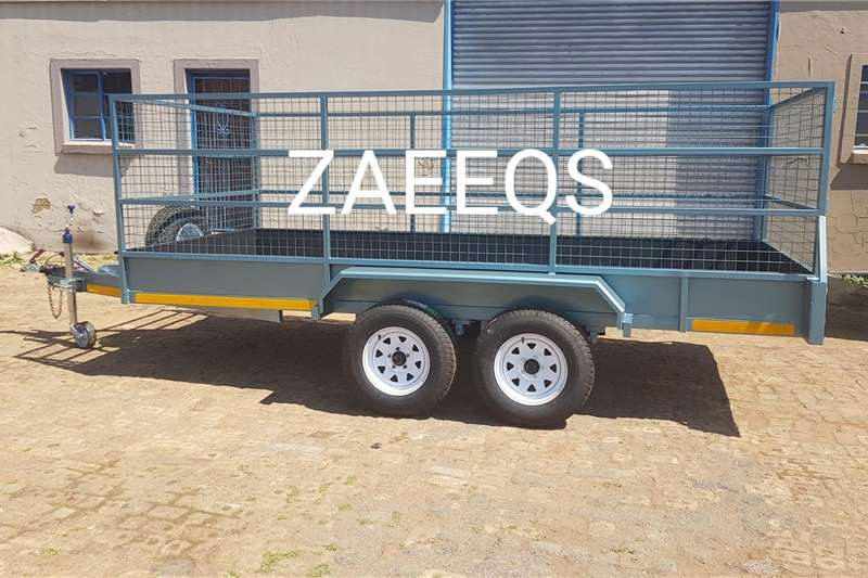 Livestock trailers Brand New Cattle Trailers... Free Sparewheel! Agricultural trailers
